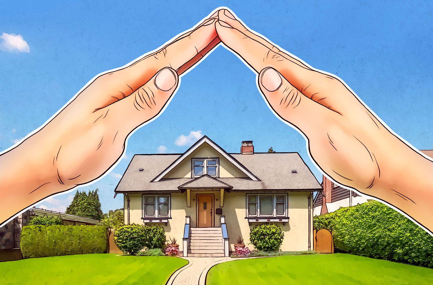 Questa immagine simboleggia il senso di protezione che dovrebbe dare un professionista nel momento in cui tratta la compravendita di un bene importante come una casa