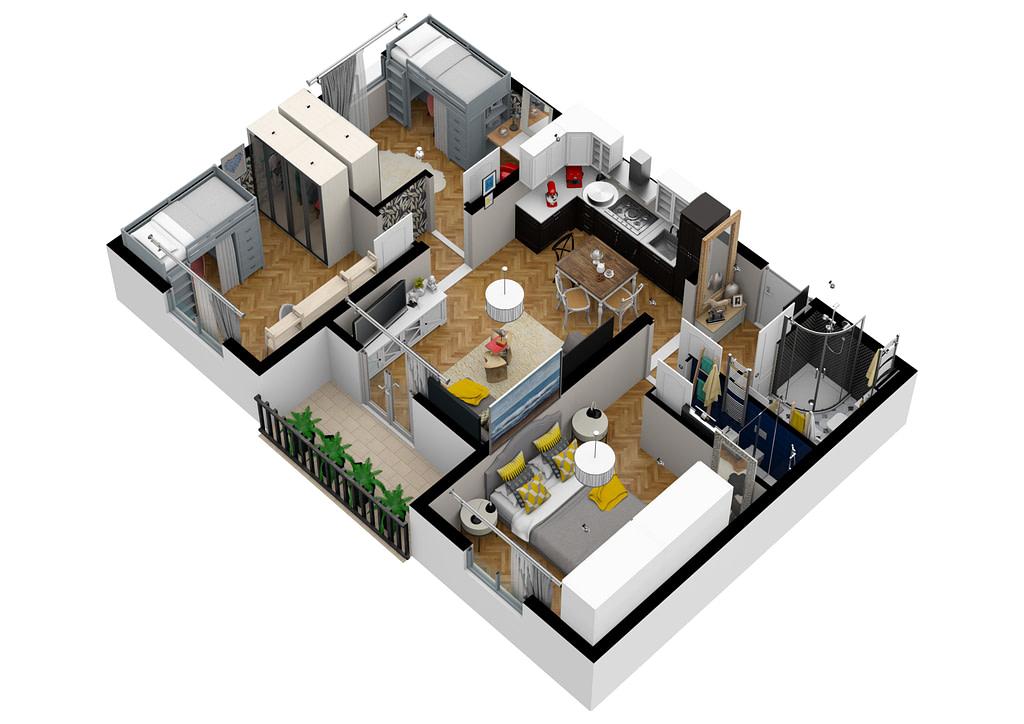 Il nostro piano marketing immobiliare prevede la realizzazione di rendering e video rendering