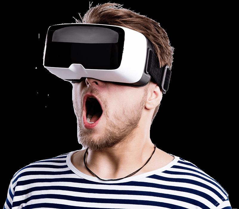 gli occhiali habdset per la realtà virtuale stanno prendendo quote di mercato e saranno nel prossimo futuro una dotazione indispensabile dentro ogni familia